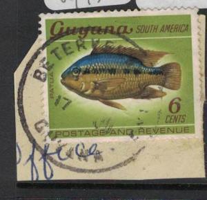 Guyana Fish Beterverwagting Town Cancel VFU (7dua)