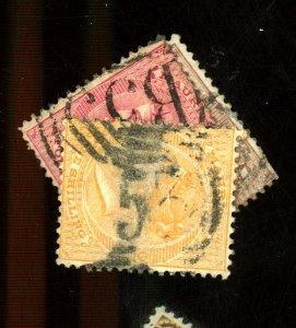 Mauratius #32,35,39 Used Fine Cat$50