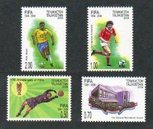 2004 Tajikistan 329-332 100 years of football organization FIFA