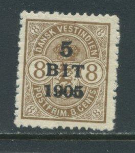Danish West Indies 42  MHR