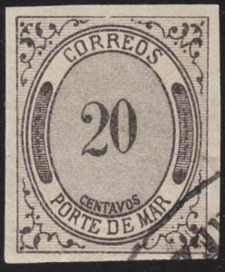 MEXICO  An old forgery of a classic stamp..................................69212