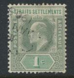 Straits Settlements Edward VII SG 110  Used