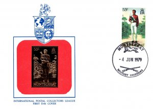 Montserrat, Worldwide First Day Cover, Military Related