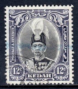 Malaya (Kedah) - Scott #47 - Used - SCV $5.50