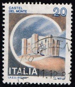 Italy #1410 Del Monte Castle; Used (4Stars)