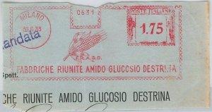 47487 - ITALIA REGNO - AFFRANCATURA MECCANICA: Fab. Riunite AMIDO GLUCOSIO 1933