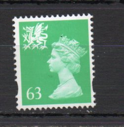 Great Britain - Wales WMMH92 MNH