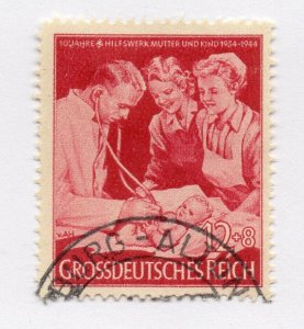 Germany 1943 Early Issue Fine Used 12pf. NW-100704