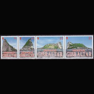 GIBRALTAR 2002 - Scott# 917 Rock Views Set of 4 NH