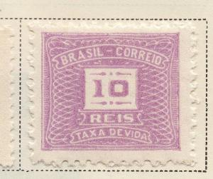 Brazil 1919-36 Early Issue Fine Mint Hinged 10r. 118345