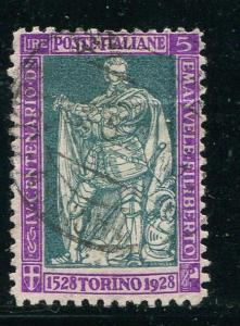 Italy #208 Used