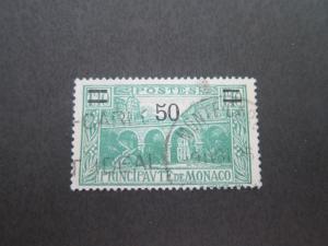 Monaco 1931 Sc 96 FU