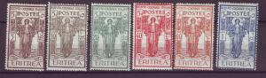 J21242 Jlstamps 1926 eritrea set mh #b11-6 peace
