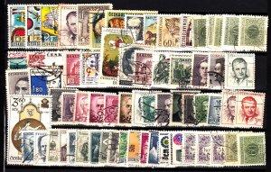 Czechoslovakia 66 different used