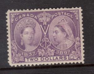 Canada #62 XF Mint