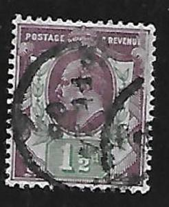 Great Britain Scott #129 Used Lot 1