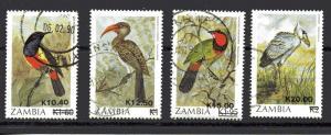 Zambia 494-497 used