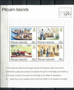 Pitcairn Islands SC# 192 Mail Processing & Delivery s/s MNH