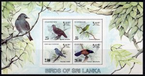 Sri Lanka (1983) #691-4, 694a MNH