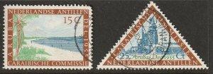 Netherlands Antilles 1955 Sc 233-4 set used