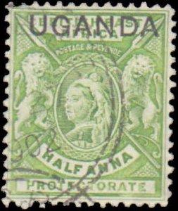 Uganda  #77, Complete Set, 1902, Used