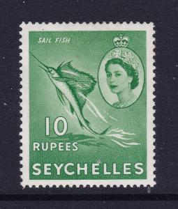 Seychelles a 1954 MNH 10R