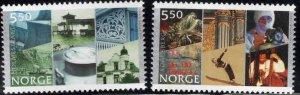 Norway Scott 1334-1335 City Charter set