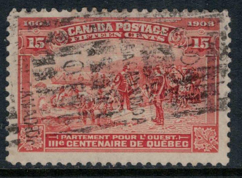 Canada #102  CV $160.00