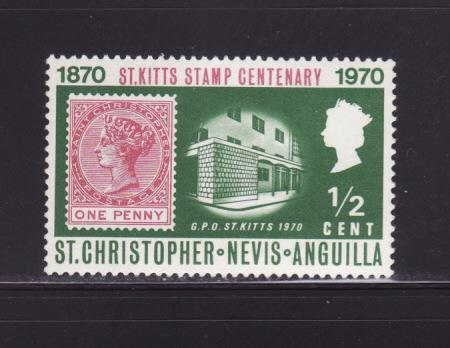 St Kitts-Nevis 230 MNH Stamps on Stamps