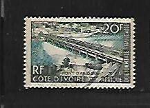 FRENCH WEST AFRICA, 77, USED, BRIDGE