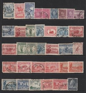 Australia a small lot of better earlies mainly KGV to KGVI