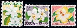 [64799] Cook Islands 1963 Flora Flowers Blumen From Set MLH