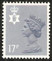 1984 GB Northern Ireland Scott NIMH30 Queen Elizabeth MNH