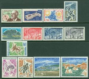 EDW1949SELL : F.S.A.T. Collection of 13 VF MNH sgls all earlier issues. Cat $381