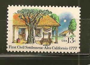 USA 1725 Alta California MNH