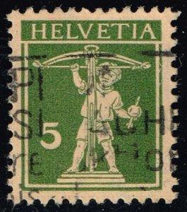 Switzerland #161b William Tell's Son; Used (16.00) (4Stars)