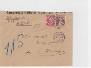 Switzerland 1897 Postal History Stamps Cover Ref: R7784