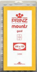 PRINZ CLEAR MOUNTS 240X120 (7) RETAIL PRICE $9.50