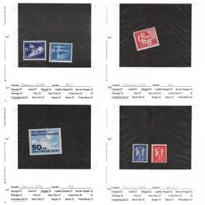 Lot of 30 Germany DDR MNH & MH Stamps Scott Range # 48 - 178 #141354 X R