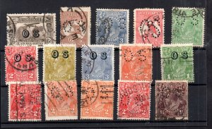 Australia unchecked used OS Official collection WS16414