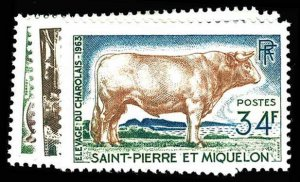 ST. PIERRE & MIQUELON 370-73  Mint (ID # 84101)