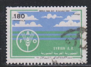 Syria, 180p World Food Day (SC# 943) Used
