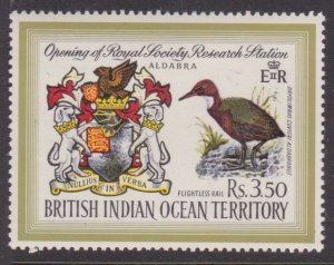 British Indian Ocean #43 high value MH