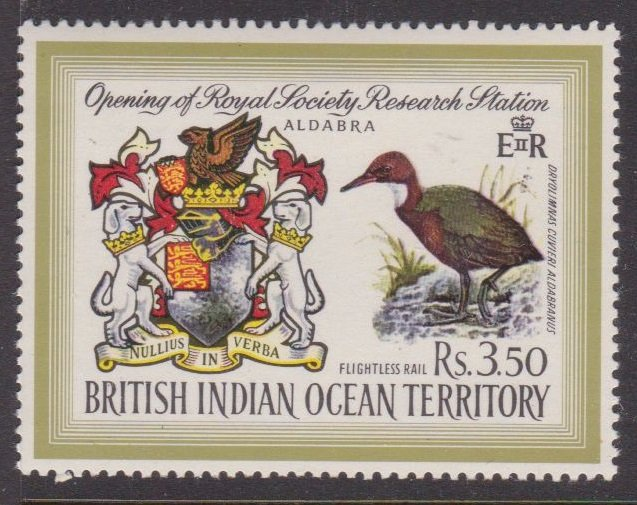 British Indian Ocean #43 high value MH
