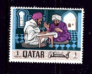 Qatar 127 MLH 1968 issue