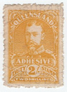 (I.B) Australia - Queensland Revenue : Adhesive Duty 2/-