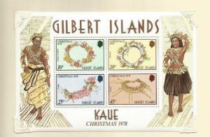 GILBERT ISLANDS 1978  SCOTT 320A MNH