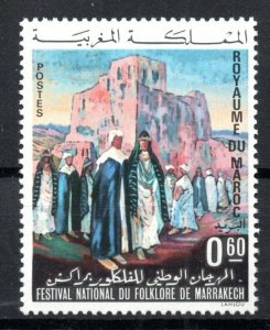 1972 - Morocco - National Folklore Festival, Marrakesh - Tower - Dress -  MNH**