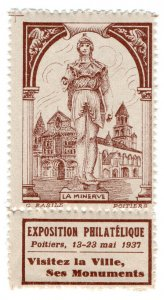 (I.B) France Cinderella : Philatelic Exhibition (Poitiers 1937)