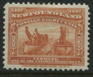 Newfoundland 1897 35 cents mint o.g. and VF